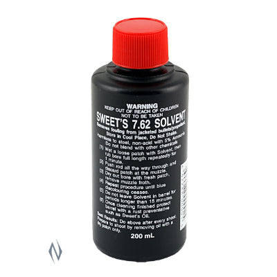 Sweet's 7.62 Bore Cleaning Solvent (200ml)