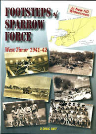 """Footsteps of Sparrow Force West Timor"" DVD"