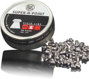 RWS 177 Cal Air Pellets - Super-H-Point 0.45g (500pk)