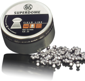 RWS 22 Cal Air Pellets - Superdome 14.5gr / 0.94g (500pk)