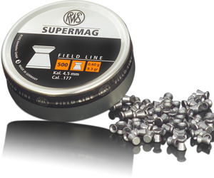RWS 177 Cal Air Pellets - Supermag 9.3gr / 0.6g (500pk)
