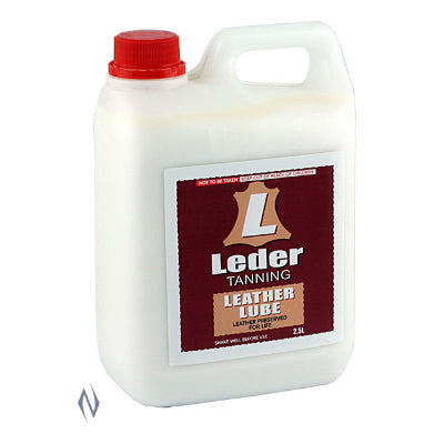 Leder Leather Tanning Lube 2.5L