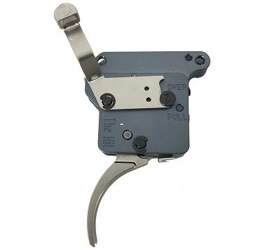 Timney Trigger THE HIT to suit Remington 700 Nickel Curved With Safety (THEHIT-16)