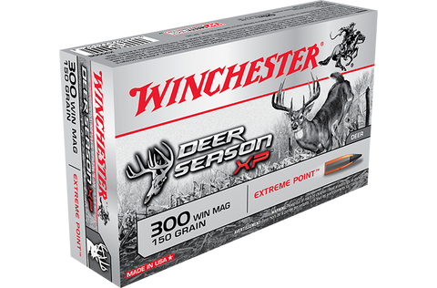 Winchester Deer Season XP Ammunition 300 Blackout 150 Grain Extreme Point Polymer Tip (20pk)