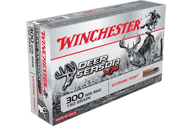 Winchester Deer Season XP Ammunition 300 Winchester Magnum 150 Grain Extreme Point (20pk)
