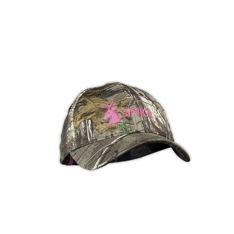 HR Spika Camouflage Cap Womens Camo & Pink (H-301)
