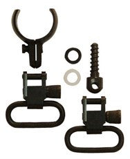 "Grovtec Barrel Band Swivel Set for Centrefire Lever Action Rifles 0.630"" - 0.675"" Diameter (GTSW-43)"