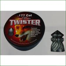 Twister Air Rifle Pellets 177 Cal (500pk) (2464)