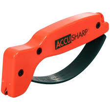 Accusharp Knife and Tool Sharpener (Orange)