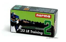 Norma Training 2 Ammunition 22 Long Rifle 40 Grain Solid Point (50pk)