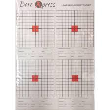 Bore Xpress Load Development Target (10 Pack) (Australian Made & Owned)