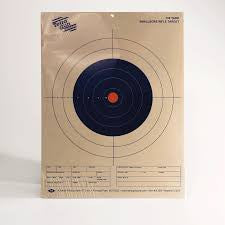 Tetra Gun 50 Yard Smallbore Rifle Target (12pk)