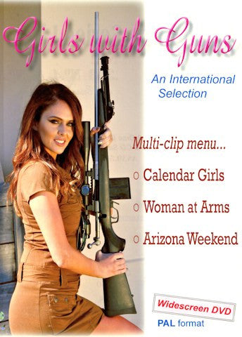 """Girls with Guns International Portfolio"" DVD"