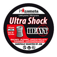 Cometa Ultra Shock Heavy 22 Cal Pellets (150pk)