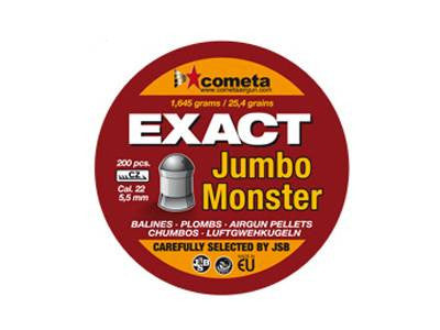 Cometa Exact Jumbo Monster 22 Cal Air Pellets 1.645g / 25.4gr (200pk) (2487)