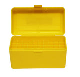 Pro-Tactical Max Comp Ammo Box Large Rifle 50 Round Yellow Fits .25-06, .270, .30-06