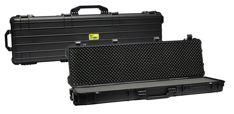 "Pro-Tactical Max Guard Cyclone Hard Plastic Double Rifle Case 53"" (Black)"