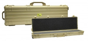 "Pro-Tactical Max Guard Cyclone Hard Plastic Double Rifle Case 53"" (Tan)"
