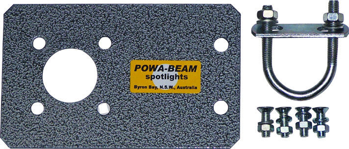 Powa Beam Roof Rack Adaptor Plate Kit for Standard Remote RC210 & RC230