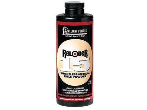 Alliant Powder Reloder 15 1LB