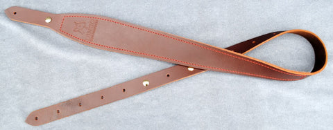 Dingo Suede &  Leather Cobra Sling with Red Stitching Brown Outback
