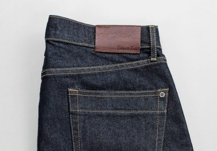 MOISTURE WICKING DENIM