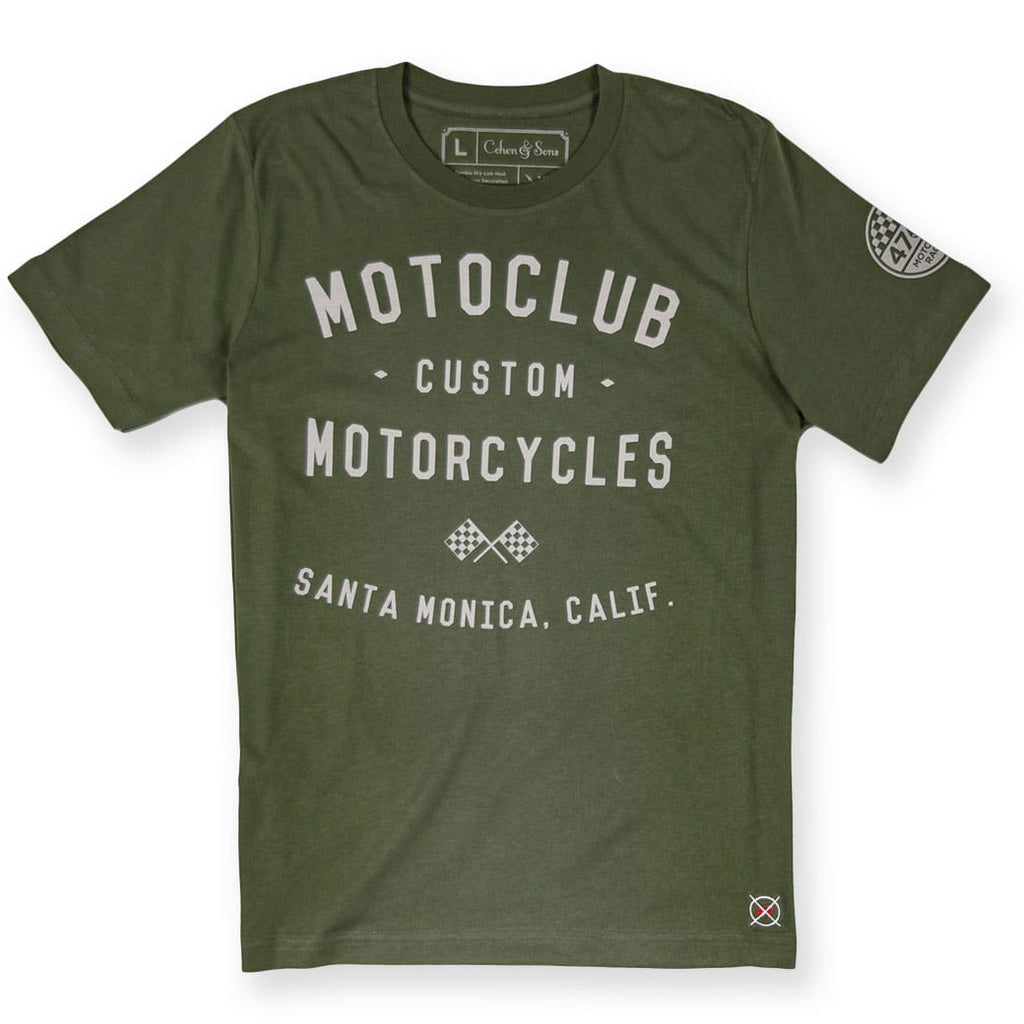 Moto Club Santa Monica - Shirts for Men