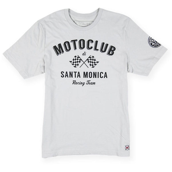 Moto Club - Mens Graphic Tees - Grey