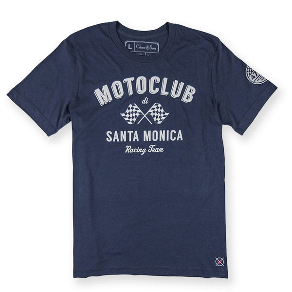 Moto Club - navy mens shirts casual