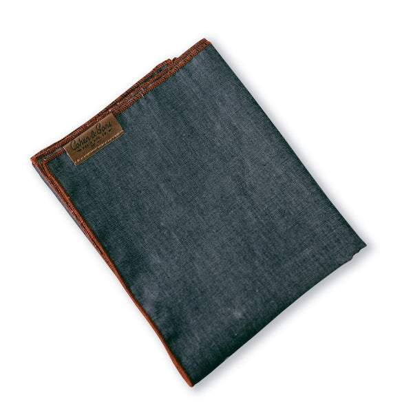 Back Pocket Blue Denim Bandana