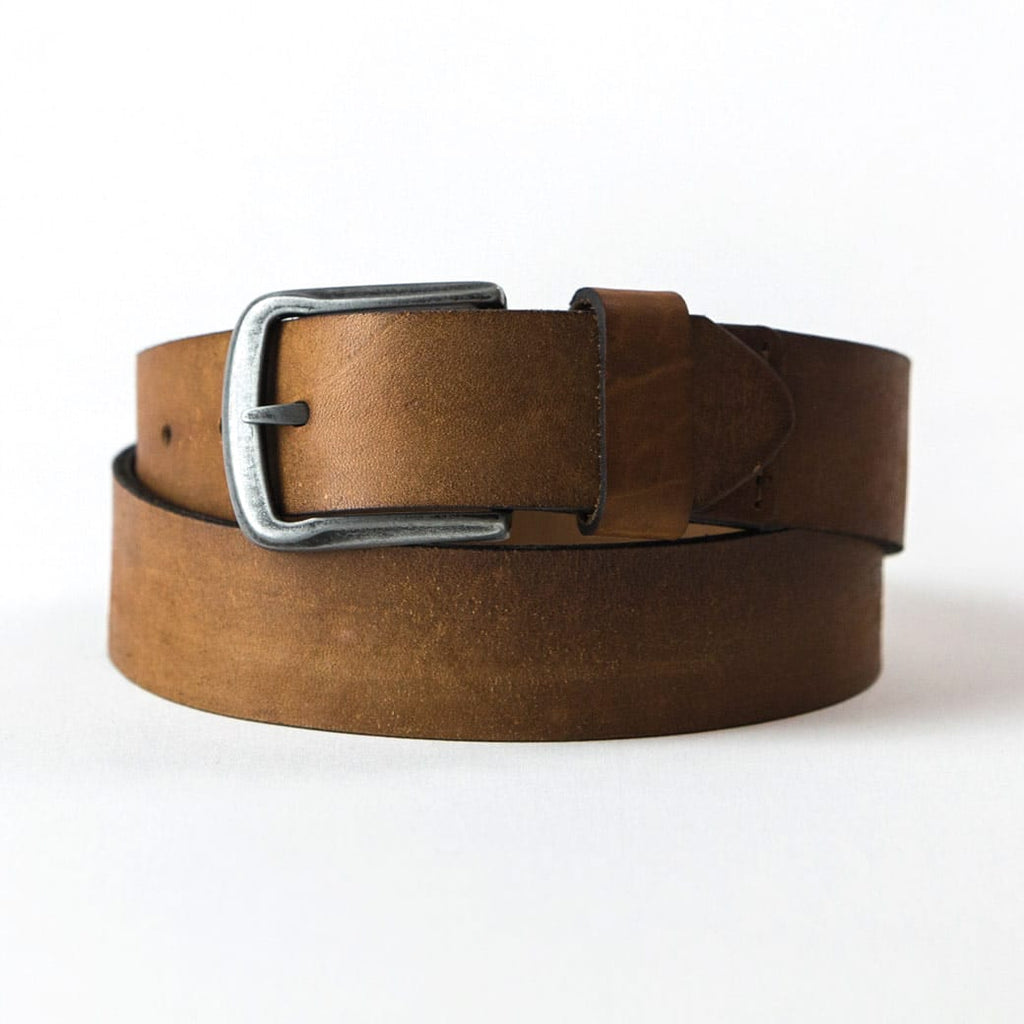 Jack's Genuine Brown Leather Belt