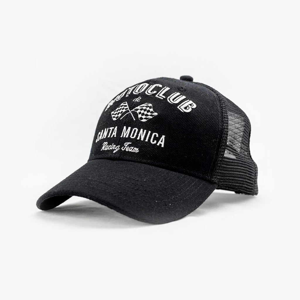 Moto Club Crossed Sticks Trucker Cap