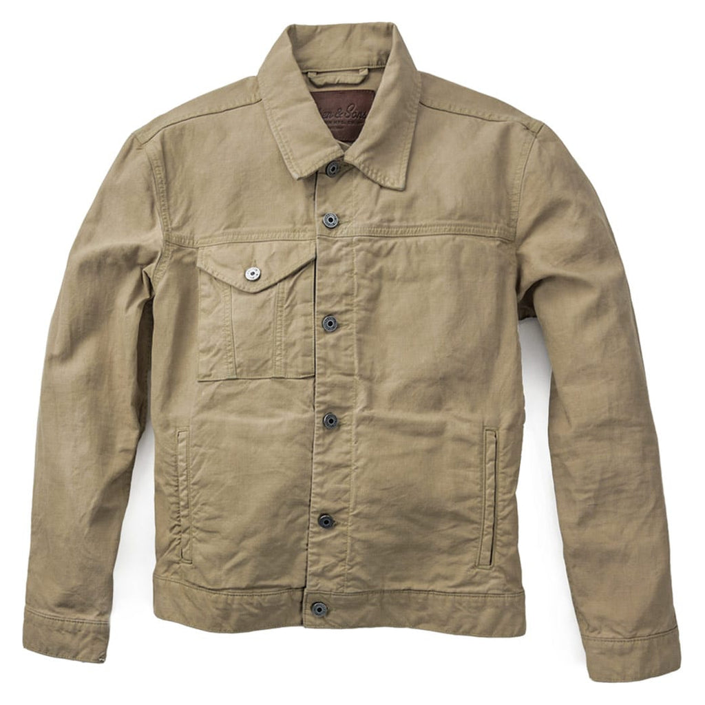 Yukon Waxed Canvas Jacket Front