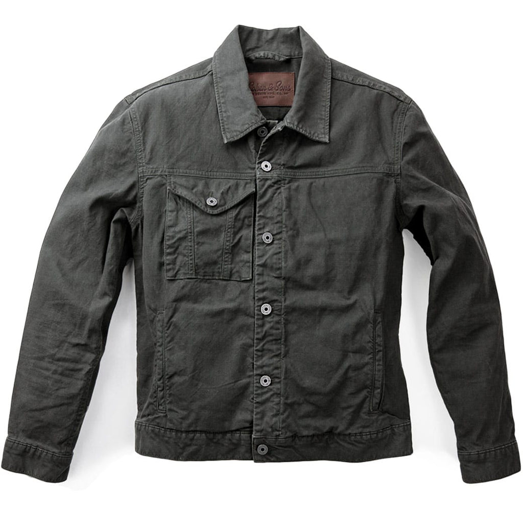 Yukon Waxed Canvas Jacket - Front