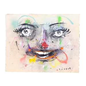 LAUGHING CLOWN DRAWING