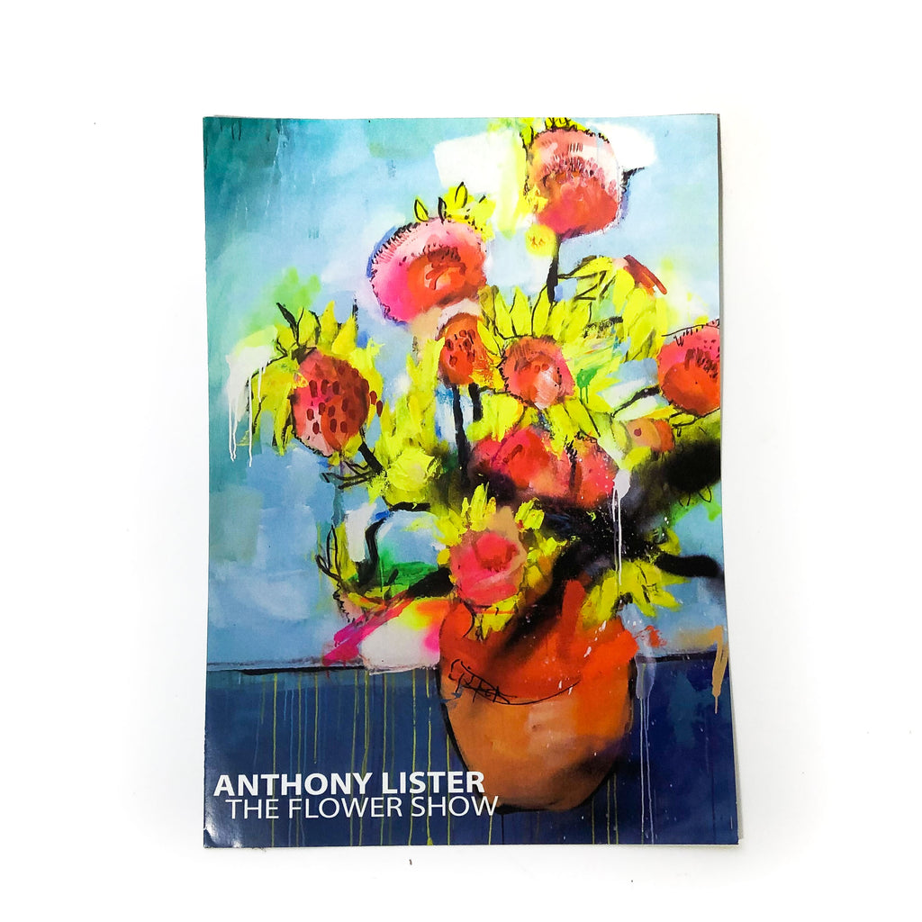 SIGNED ANTHONY LISTER FLOWER SHOW CATALOGUE