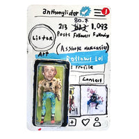INSTAGRAM ACTION FIGURE