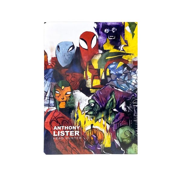 buy lister art street art original signed HEAD HUNTER Melbourne Catalogue 2020 Anthony