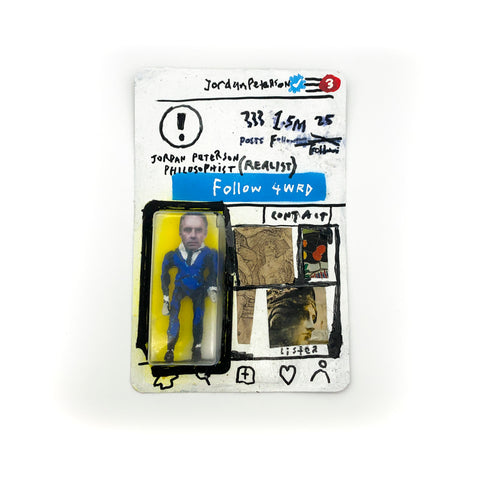 INSTAGRAM ACTION FIGURE - JORDAN PETERSON