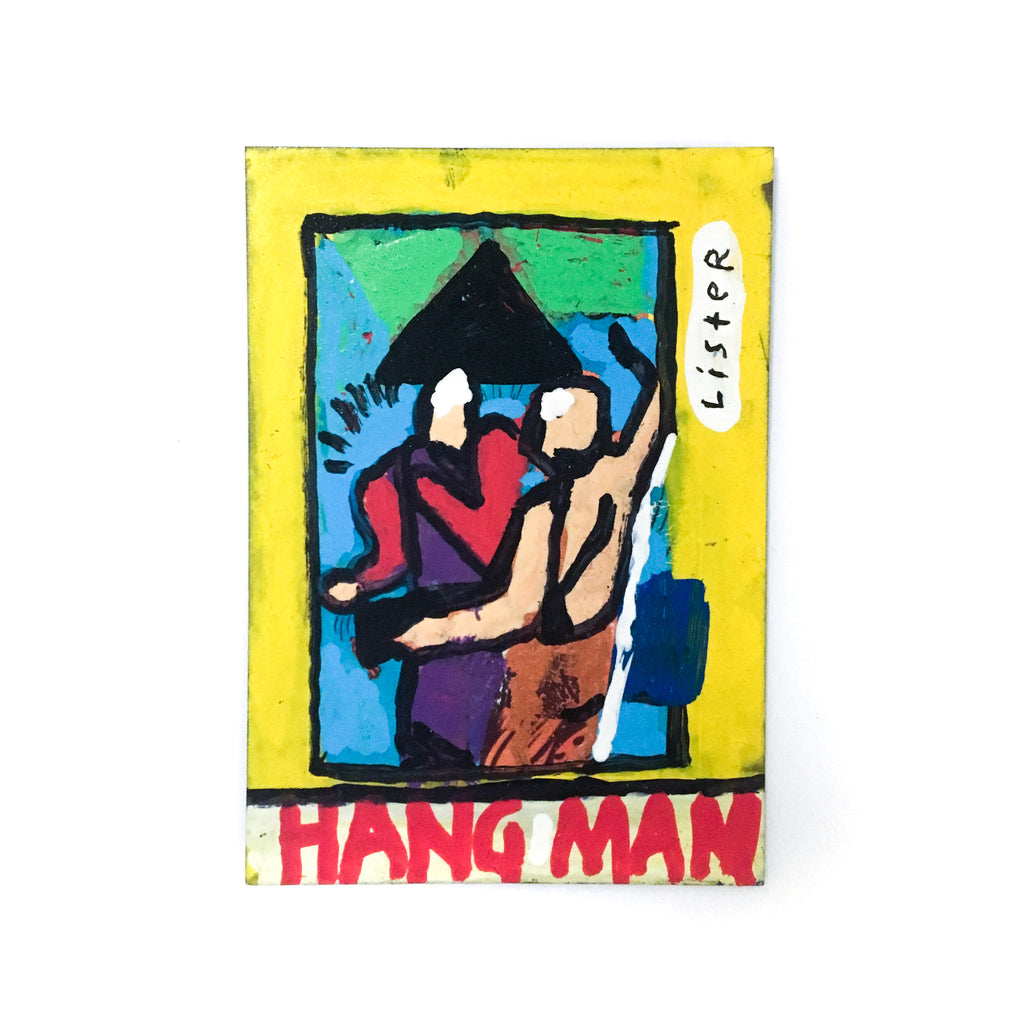 'HANG MAN' Unique and Signed 2018