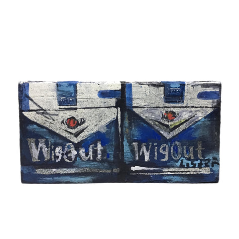 'DOUBLE PACK WIGOUT BLUE' Unique and Signed 2018