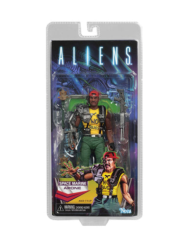 "NECA - Aliens - 7"" Scale Action Figure - Series 13 Apone - Collectors Row Inc."