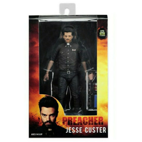 NECA Preacher Scale Series 1 Jesse Custer Action Figure - Collectors Row Inc.