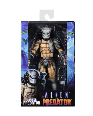 "NECA - Alien vs Predator (Arcade Appearance) - 7"" Scale Action Figure - Warrior Predator - Collectors Row Inc."