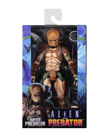 "NECA - Alien vs Predator (Arcade Appearance) - 7"" Scale Action Figure - Hunter Predator - Collectors Row Inc."