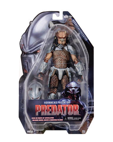 "NECA - Predator - 7"" Scale Action Figures - Series 18 - Horn Head - Collectors Row Inc."