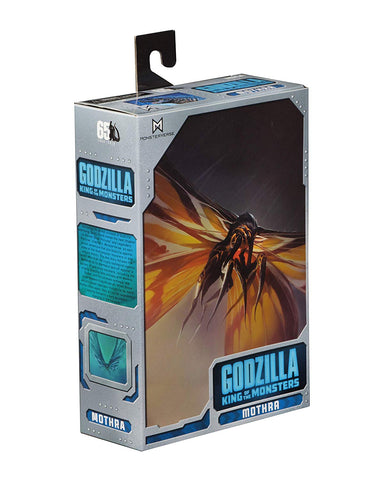 "NECA - Godzilla - 7"" Scale Action Figure - Mothra (2019) - Collectors Row Inc."