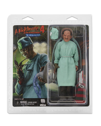 "NECA Nightmare On Elm Street 8"" Clothed Surgeon Freddy Action Figure - Collectors Row Inc."