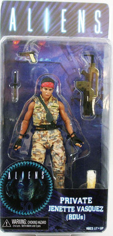 NECA - Aliens Jenette Vasquez Series 12 Private (BDUs) - Collectors Row Inc.