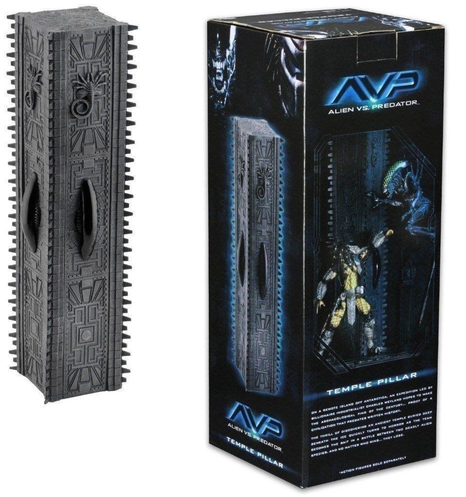 NECA Alien Vs Predator Diorama Element Temple Pillar - Collectors Row Inc.